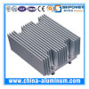 Серебряный анодируя теплоотвод T-5 алюминия 6063/алюминиевый Heatsink
