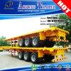 판매를 위한 반 40FT 평상형 트레일러 선적 컨테이너 트럭 트레일러