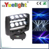 Sale caldo 8PCS 10W LED Spider Moving Head Light