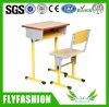 Bureau d'élève et présidence/jeu simples réglables mobilier scolaire