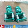 Carretilla eléctrica profesional modificada para requisitos particulares del alzamiento de la cuerda de alambre de acero de China