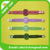 Nouveau bracelet réglable fait sur commande de silicone/en caoutchouc