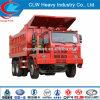 Carro de descarga resistente del volquete de la explotación minera de Sinotruk HOWO 6X4 70ton