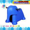 Kind-Plastikspielzeug-Auto, Elefant, der Spielwaren-Zahnstange formt