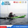 4.3metre одиночные сидят на рекреационном Kayak LLDPE/HDPE