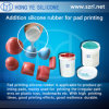 Auflage-Drucken-Silikon-Gummi