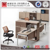 큰 파일 캐비넷 (NS-PT030)를 가진 단순한 설계 사무실 책상