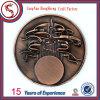 Monete su ordinazione di sfida, moneta del metallo, moneta antica 2016