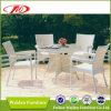 Mobília de vime, tabela do jardim, cadeira do lazer (DH-6069)
