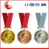 Medaille van uitstekende kwaliteit van de Sporten van de Douane van het Metaal 3D