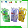 Liquid de lavage Laundry Detergent Packaging Pouch Bag avec Spout