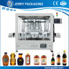 автоматическая машина завалки поршеня бутылки соевого соуса 50-1000ml жидкостная разливая по бутылкам