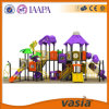 Huaxia Outdoor Plastic Slide Amusemeny Parc Children Toys per Residential Area