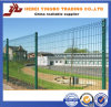 PVC Coated Welded Wire Mesh Bends Fence/3 Wire Mesh Fence con Post