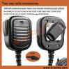 Remplacement de microphone de haut-parleur de police pour le talkie-walkie par radio bi-directionnel
