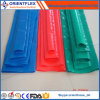 Tuyau de décharge d'eau plate à PVC de 5 pouces