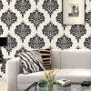 Papier peint imperméable à l'eau de luxe de qualité supérieur de type italien pour la décoration à la maison