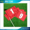 A impressão da tela ostenta a bandeira para o furo Falgs do golfe (M-NF33F01006)