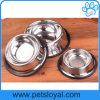 Câble d'alimentation d'animal familier de cuvette de crabot d'animal familier d'acier inoxydable de vente directe d'usine