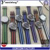 Yxl-185 de promotie Nieuwe Mensen van het Ontwerp letten op de Militaire Horloges van Mens van de Chronograaf van het Polshorloge van de Wijzerplaat van het Bod Rubber Toevallige
