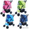 Dots 4 Wheels Pet Strollers Accueil Chariot Chariot à chien