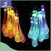 Luz solar de la cadena de la Navidad del LED para la decoración al aire libre