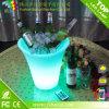 Cubeta plástica da cerveja do diodo emissor de luz para a decoração do partido