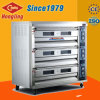 Industrielles/Berufs-/luxuriöses Backen-Gerät für 3 Tellersegment-elektrischen Ofen der Plattform-9