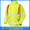Куртка пожарных изготовленный на заказ износа строительной работы огнезамедлительная с рефлектором