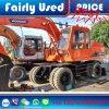 Excavador usado buenas condiciones de la rueda de Doosan Dh140W para la venta