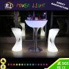 Bar Muebles de plástico RGB LED heces Iluminado con mando a distancia