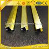 Perfil de aluminio anodizado de oro de la protuberancia de 6000 Sereis para Pictrures