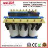 始動機の変圧器を減らす100kVA三相自動電圧