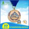 Kundenspezifisches Metall gebildet Preis-Kampagnen-Medaille mit Farbband