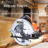 la circulaire en bois de découpage d'outils d'énergie électrique de 900W Kynko a vu (6093)