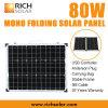 panneau solaire de pliage mono de 80W 12V pour la maison/industrie