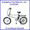 gordura de dobramento da bicicleta elétrica de 36V 250W