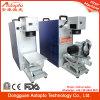 Миниая портативная автоматическая машина маркировки лазера волокна для металла