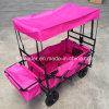 Vagão de dobramento com dossel & o saco refrigerando - saco cor-de-rosa Tc1011