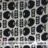 Черная геометрическая ткань шнурка (M0159)