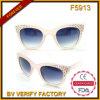 Estilo colorido das mulheres de Sunglass dos óculos de sol F5913 cor-de-rosa