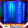 De hete Tent die van de Kubus de Opblaasbare Cabine van de Foto met LEIDEN Licht aansteken