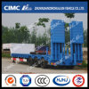 10m 3axle Big Gooseneck Lowbed Semi Trailer mit Hydraulic Ramp