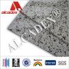 Panneau composé en aluminium en métal de revêtement de mur de texture de granit