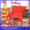 Mezclador concreto móvil con las ruedas para los modelos de Jzc