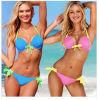 Verbindliche Ausdehnungs-Ineinander greifen-Qualitäts-reizvoller Strappy Ansatzhalter-Bikini