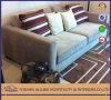 타이란드 Apartment 알루미늄 Tg0108 2 Luxury Fabric Modern 거실 Sofa Set 또는 Wood Sofa Furniture