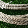 304/316 cuerda de alambre de acero inoxidable 7X19 (estruendo, BS, milipulgada)