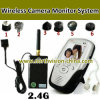 2.4GHz Wireless DVR mit 2.5inch Monitor