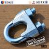 Abrazadera de cuerda plateada cinc de acero maleable de alambre DIN741